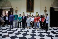Savremeni učenici na Belom dvoru