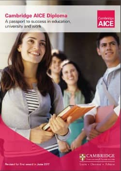 Advanced International Certificate of Educatio brosura
