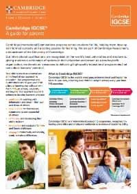 IGCSE vodic za roditelje