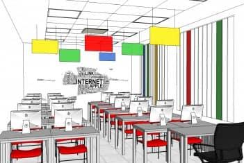 Učionica 2C - IT kabinet