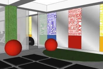 Sala za rekreaciju - joga i aerobik