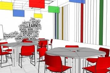 Učionica 3B - Raspored sedenja za grupni rad