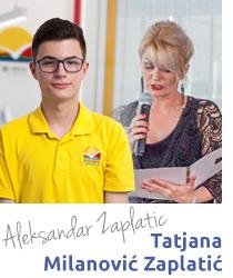 Aleksandar Zaplatić maturant Savremene