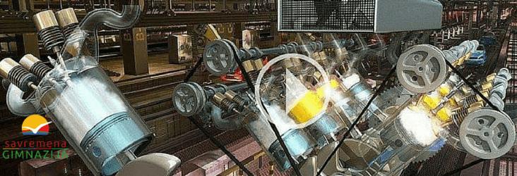 3D animacija motora