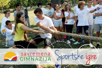 Savremeni gimnazijalci na sportskim igrama