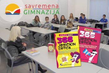 U Savremenoj gimnaziji poznata spisateljica Violeta Babić održala je prezentaciju svojih knjiga