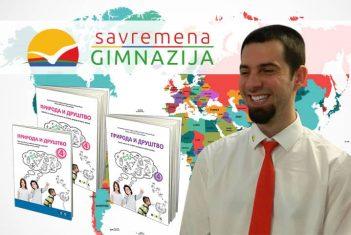 Profesor geografije Savremene gimnazije koautor udžbenika