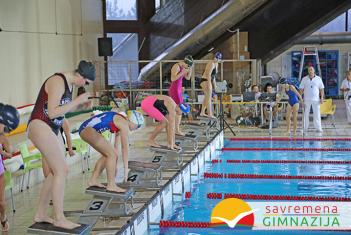 Čestitamo našim učenicima na zapaženim rezultatima u plivanju