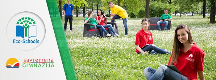 Učenici Savremene gimnazije kao deo projekta eko-škole