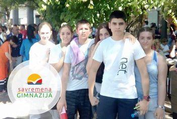 Savremeni gimnazijalci na Beogradskom maratonu