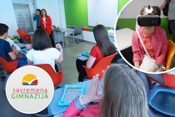 Gimnazijalci iz Gornjeg Milanovca posetili Savremenu gimnaziju
