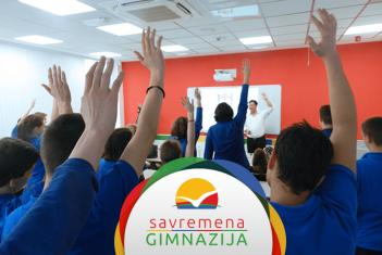 Predavanje Sema Janga i Kingdom edukejšn stipendije za savremene gimnazijalce