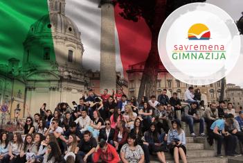 Nezaboravno putovanje savremenih gimnazijalaca u Rim