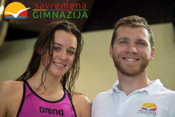 Zapaženi sportski uspesi savremenih gimnazijalaca na gradskom takmičenju u plivanju