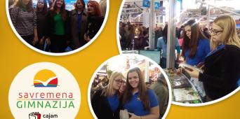 Savremeni gimnazijalci u poseti 61. Međunarodnom beogradskom sajmu knjiga