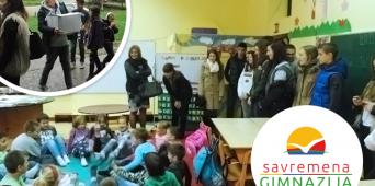 Savremeni gimnazijalci poklonili knjige vršnjacima u Gornjoj Toplici