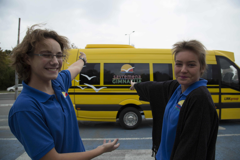 Intelligent School Bus za učenike