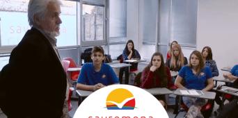 Druženje savremenih gimnazijalaca sa pesnikom Simom Potkonjakom