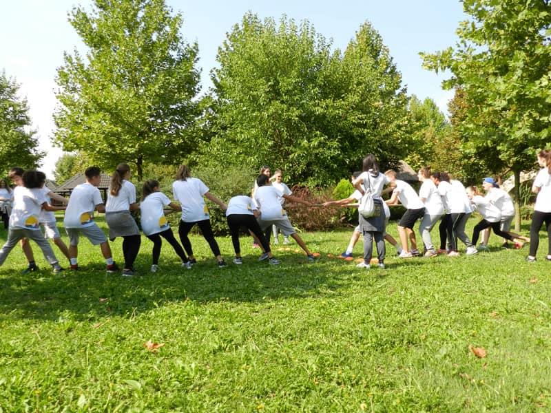 Zanimljive sportske aktivnosti u prvoj školskoj nedelji