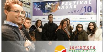 Savremeni gimnazijalci posetili Festival nauke