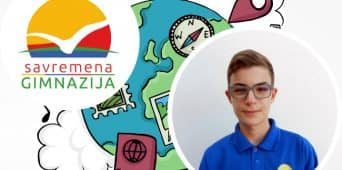 Treće mesto za Aleksandra Zaplatića na Nacionalnoj geografskoj olimpijadi