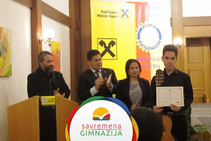 Specijalna nagrada za Nikolu Milosavljevića na 19. Internacionalnom festivalu gitare