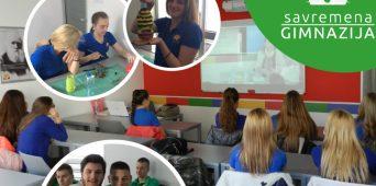 Svetski dan planete Zemlje obeležen u Savremenoj gimnaziji