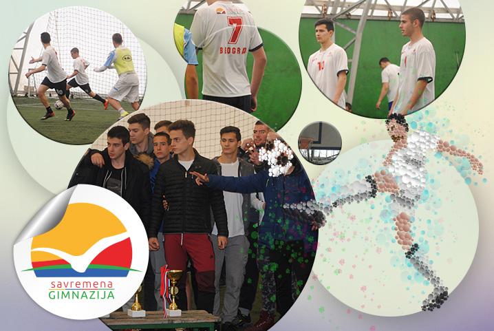Bronza za savremene gimnazijalce na međugradskom turniru u malom fudbalu