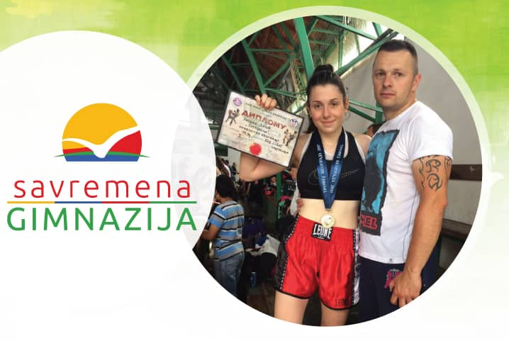 Zlatni trofej Beograda za kik-bokserku Natašu Katić