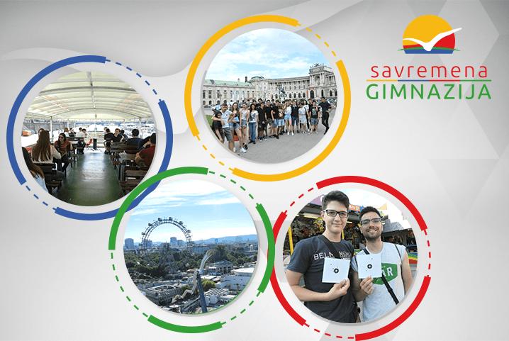 I učenici Kembridž programa posetili češku i austrijsku prestonicu
