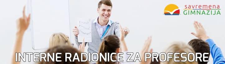 Interne radionice za profesore Savremene gimnazije