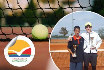 Mateja Ćurić drugi na Masters turniru Teniskog saveza Srbije