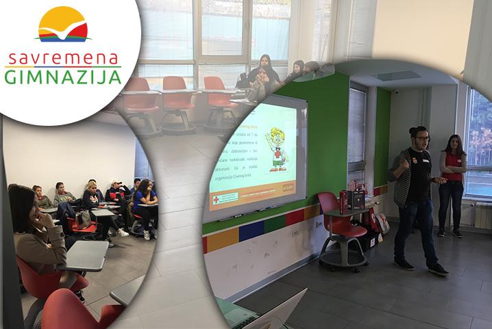 Prezentacija Crvenog krsta Srbije za savremene gimnazijalce