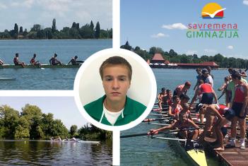 Veslač Ognjen Mitrović – još jedan ponos Savremene gimnazije