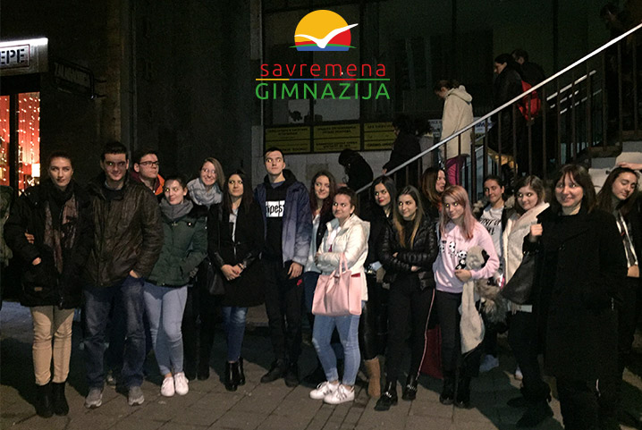 """Učenici u pozorištu na Slaviji gledali """"Koštanu"""""""