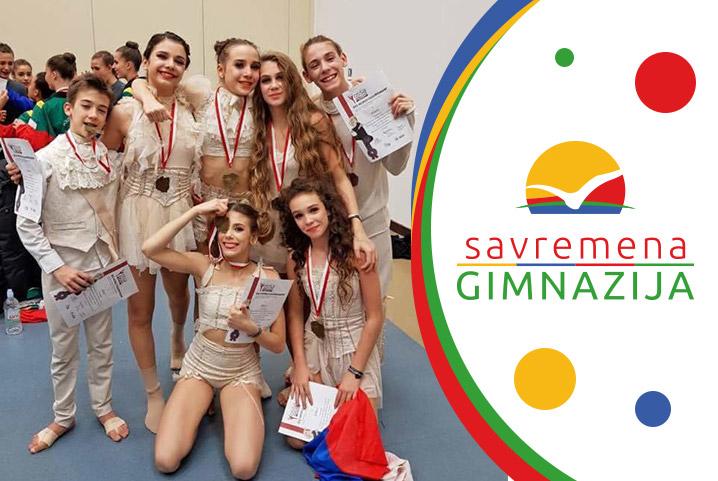 3 zlatne medalje za Tamaru Jakuš na internacionalnom takmičenju u plesu