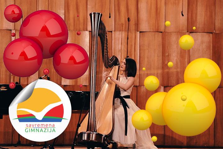 Savremena je ponosna na učenike poput Irine: Muzičko putovanje talentovane harfistkinje