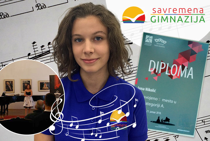 Čarobnim glasom do prvog mesta: Jana Nikolić zablistala na takmičenju u solo pevanju