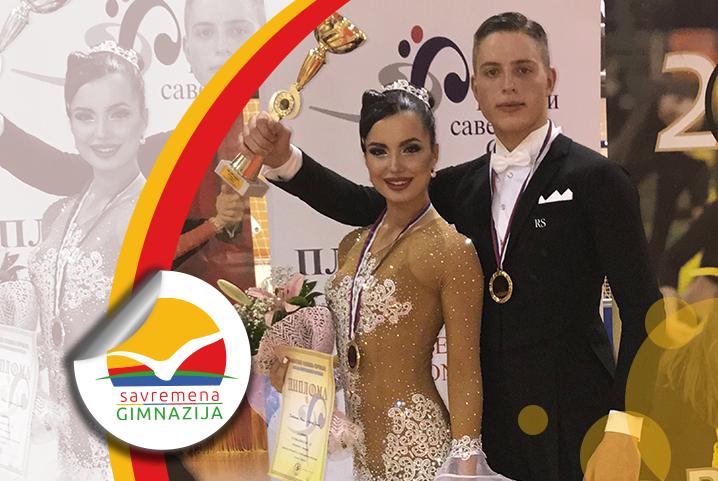 Maša Radulović prvakinja Srbije na Državnom prvenstvu u standardnim plesovima