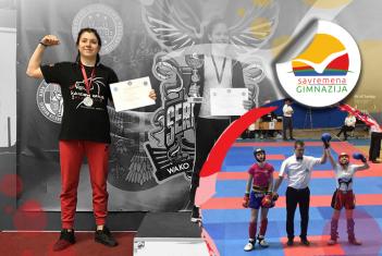 Srebro za Natašu Katić na Evropskom kik-boks kupu Srbija Open 2018.