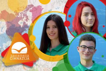 Treće mesto za Taru Papić i zapaženi rezultati Ane Petrović i Aleksandra Zaplatića na Geografskoj olimpijadi