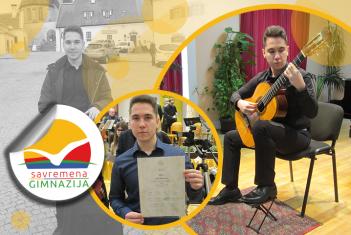 Nove nagrade na domaćim i međunarodnim takmičenjima za gitaristu Nikolu Milosavljevića