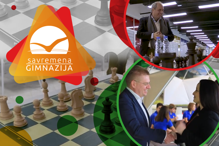 Saradnja Savremene gimnazije i Šahovskog kluba Crvena zvezda