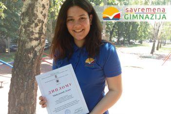 Istraživački rad iz biologije Dunji Mićunović doneo prvo mesto na regionalnom takmičenju Centra za talente Beograd