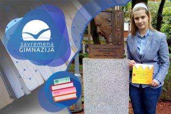 """Treće mesto za Jovanu Đurović na takmičenju u recitovanju """"Kraljevstvo poezije"""""""