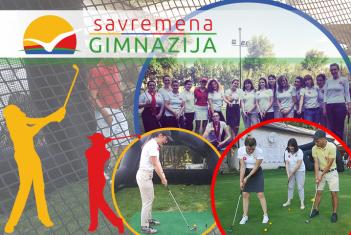 Savremena gimnazija deo globalne manifestacije Women's Golf Day