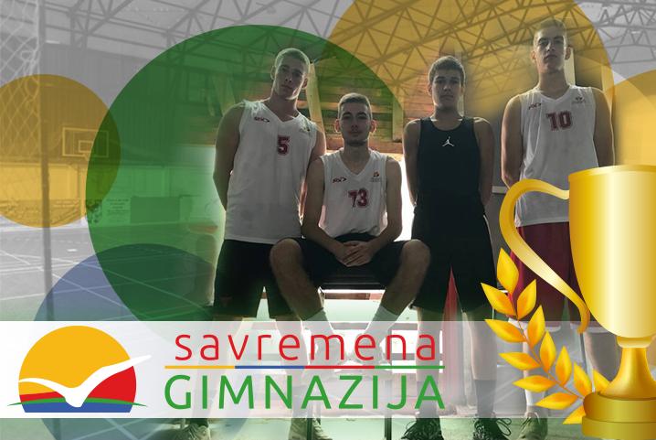 """Savremena gimnazija dobitnik godišnje nagrade """"Sport i obrazovanje"""" u konkurenciji srednjih škola"""