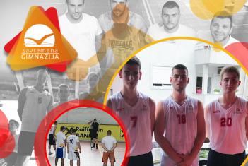 Treće mesto za savremene učenike na turniru u basketu