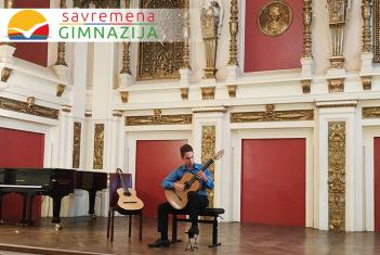 Od Arilja do Beča: Savremeni gitarista Nikola Milosavljević ovog leta učestvovao na čak dve muzičke manifestacije