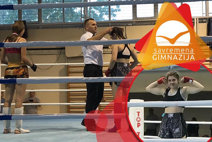 Još jedno zlato za kik-bokserku Natašu Katić, ovog puta na Prvenstvu Beograda